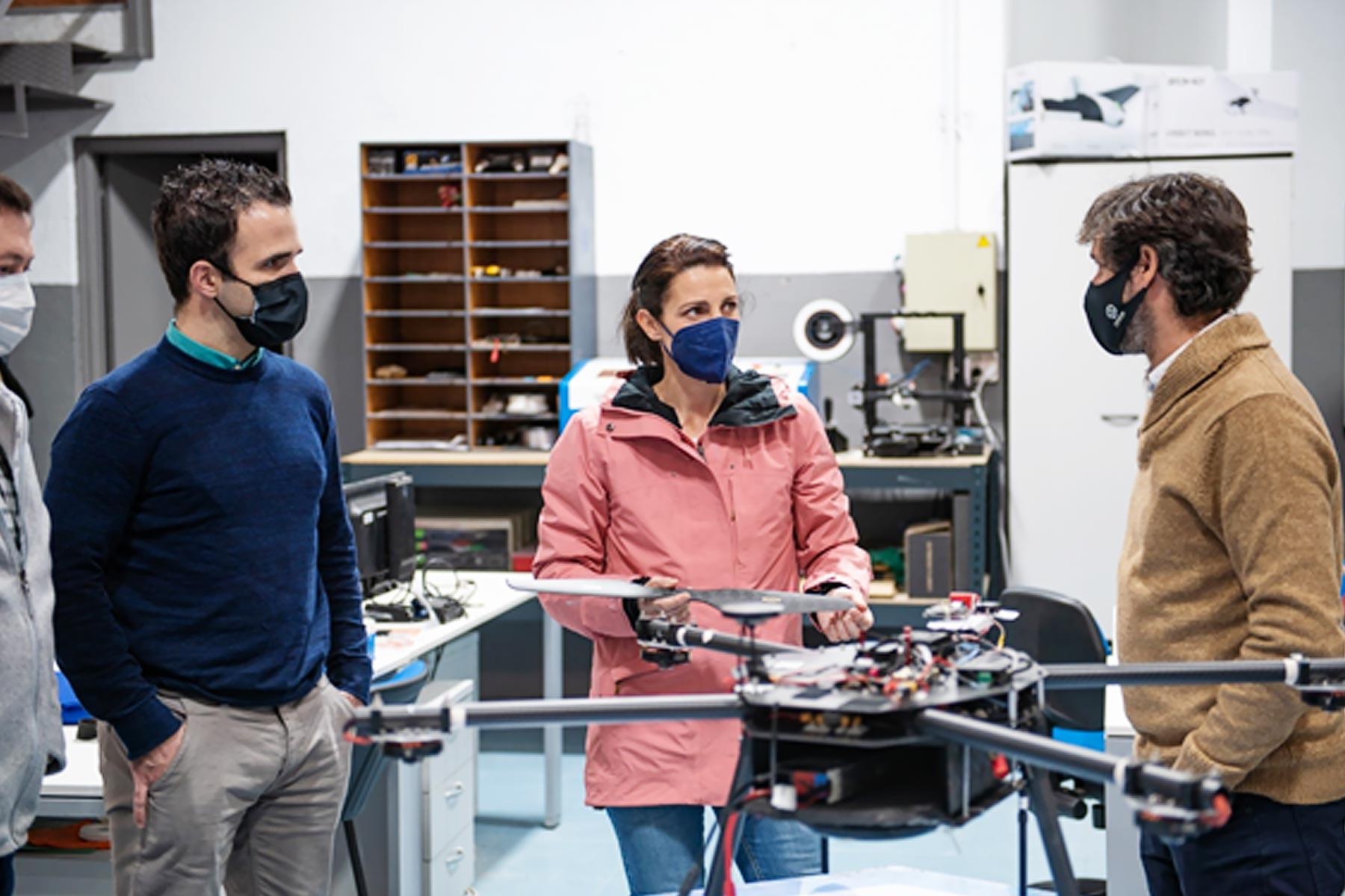 SATURNO, diseñando un drone para operaciones de emergencias en montaña