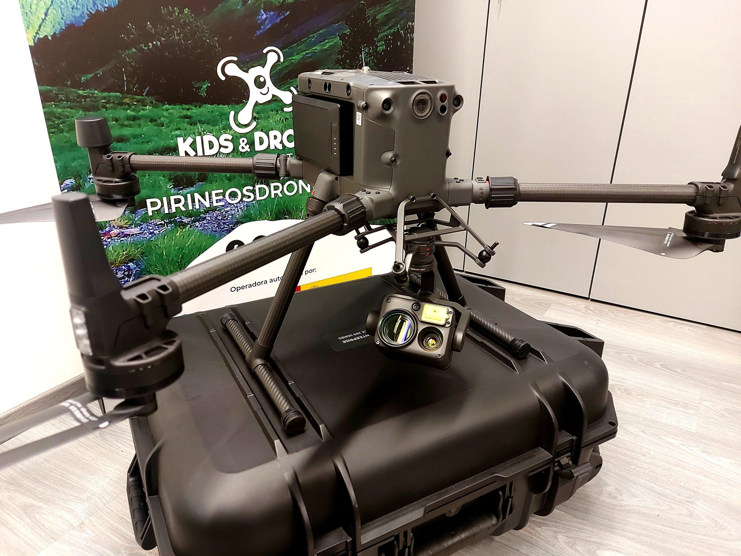 El drone de inspecciones de Pirineos Drone Aviation.